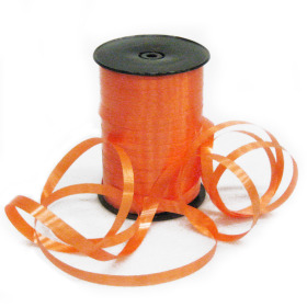 Curling ribbon 5mm x 500m mandarin