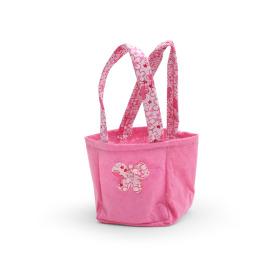Carrybag Vlinder Vilt 9,5x9x11cm roze