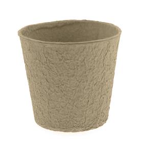 """Paper Pulp Pot Carta 6"""" natural"""
