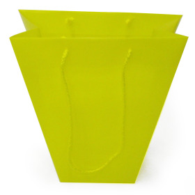 Vase bag yellow