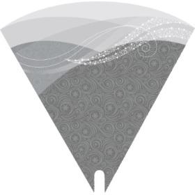 Smartsleeve Wintermist 19.5in silver