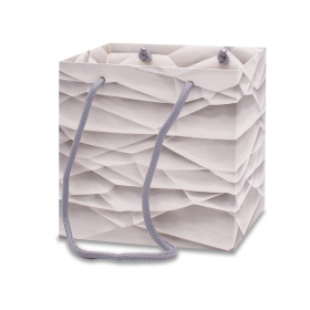 Carrybag Stoney Creek 6x6x6 in white