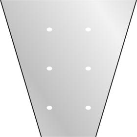 Hoes V-Shape 40x25x10cm BOPP40 transparant +LG