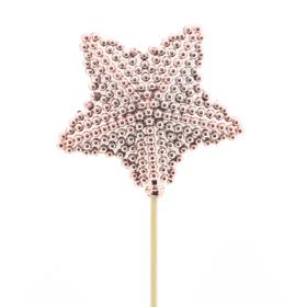 Star Blinkle 8.5 on 50cm stick pink