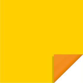 Bi-Color 20x20in yellow/orange