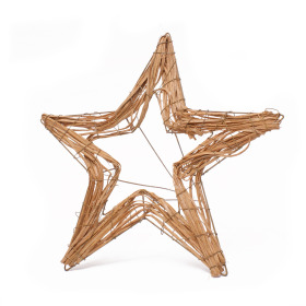 Bouquet holder Nature Star Ø25cm