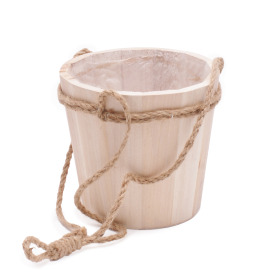 Hanging pot Tim ES10.5 H12cm natural