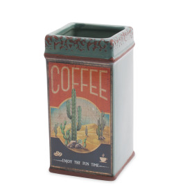 Ceramic Coffee Cactus 8,3x8,3 H16,3cm