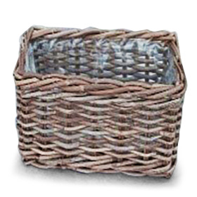 Basket Rattan Cottage 30x20 H15cm
