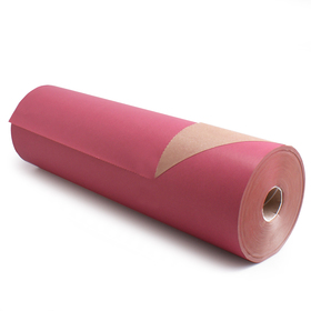 Roll Brown Kraftpaper 60cm/50g. FSC Mix 70% cyclamen