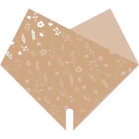 Sleeve Doublé Atelier 40x40cm sand