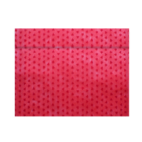 Tubesleeve Send Love 40x55cm red