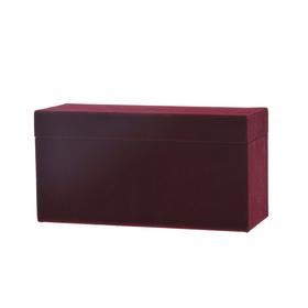 Geschenkdoos Velvet Jewelry 22,5x9,5x11,5cm bordeaux