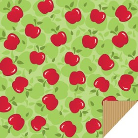 APPLES 24X24 IN KRAFT