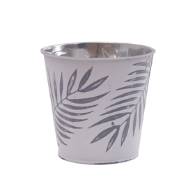 Pot Zinc Urban Jungle 5 in gray