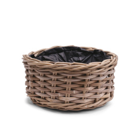 Basket rattan Cottage Ø26 H13cm