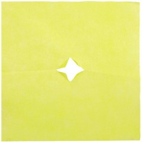 Nonwoven 20x28in yellow + x