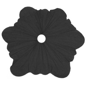 Bouquet holder Silk Roset 40cm black