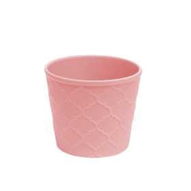 Ceramic Pot Harmony 4 in pink glossy