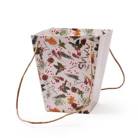 Carrybag Oh Deer 17/17x11/11x20cm FSC Mix 70%