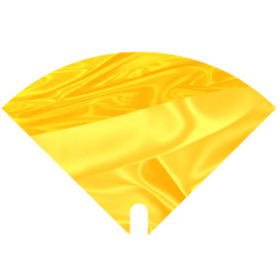 Sleeve Moon Satin 40x40cm yellow