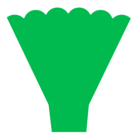 Sleeve Maxima 54x44x12cm green
