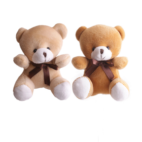 Bear Teddy 14x14cm assorted x2