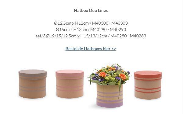 PLA hoezen en nieuwe hatboxes