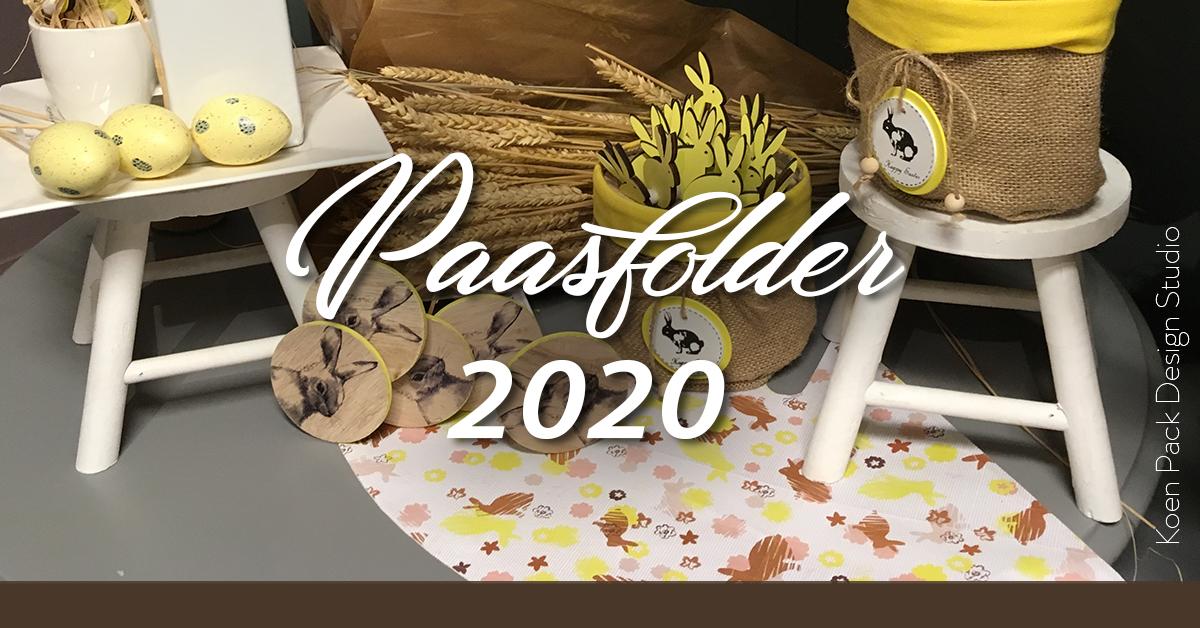 Paasfolder 2020