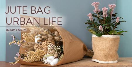 Nieuwe jute tassen en meer