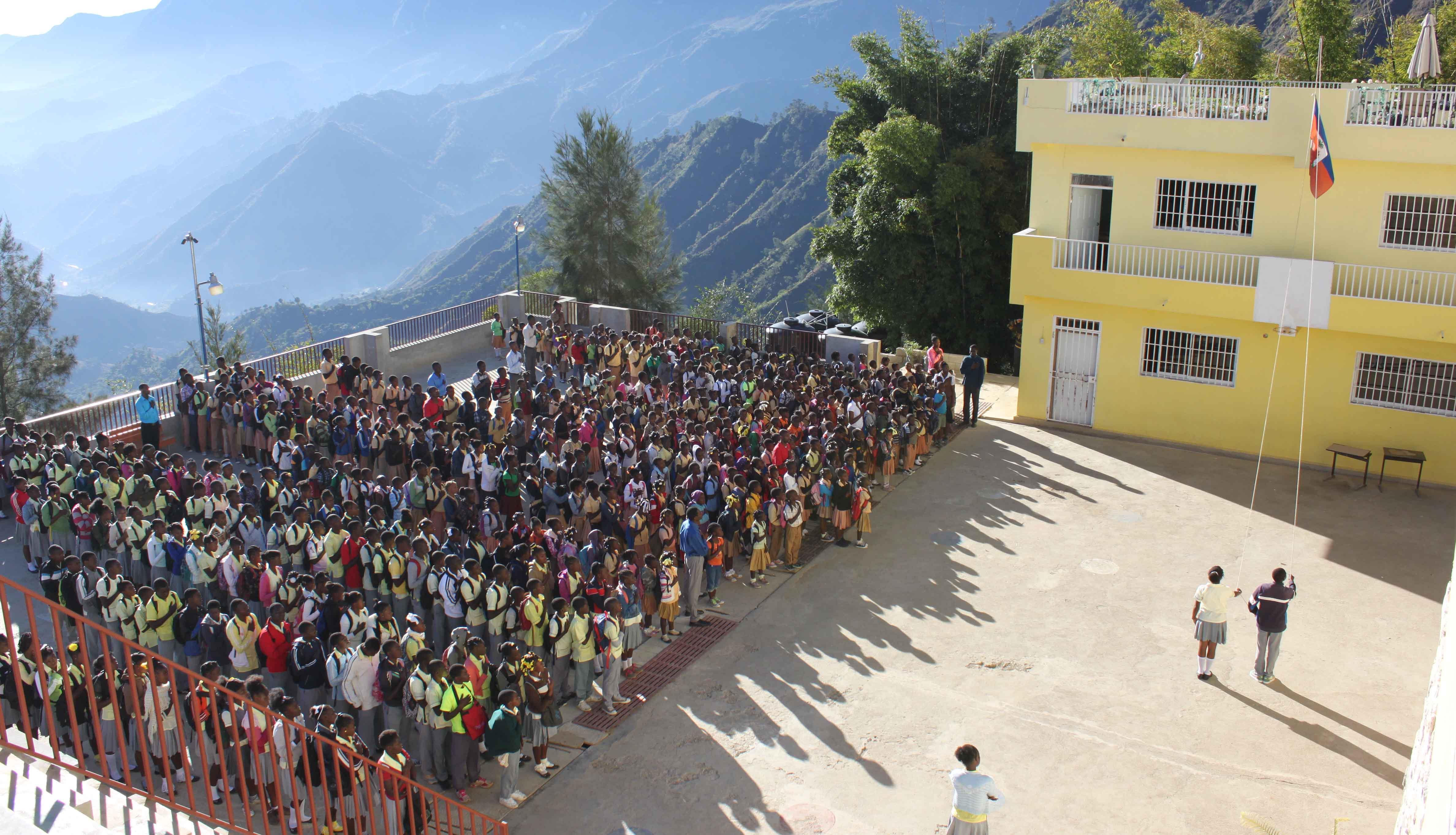 Foundation to School in Haiti