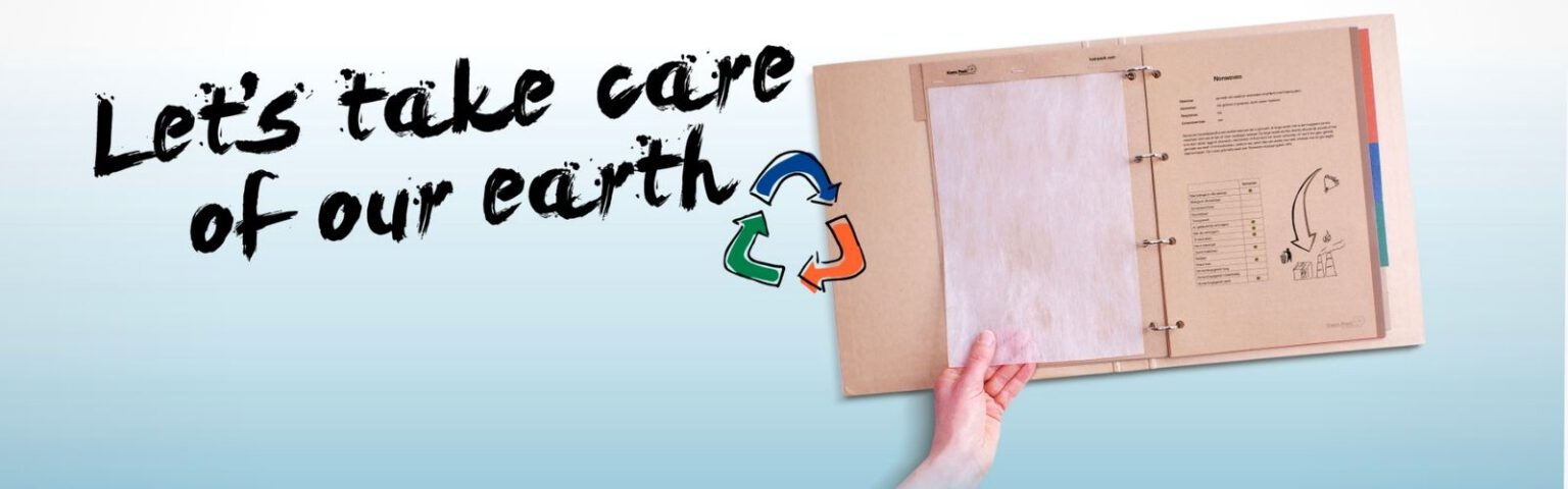 Let's take care of our earth