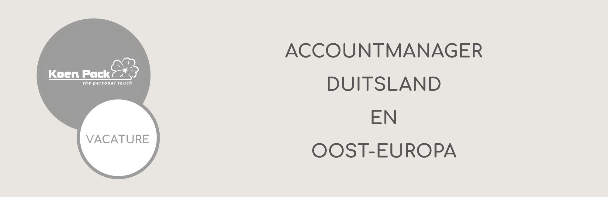 Accountmanager Duitsland en Oost-Europa